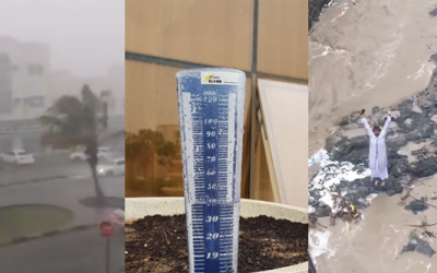 Umm Al Quwain reports highest amount of rainfall as thunderstorms continue at UAE's northern emirates
