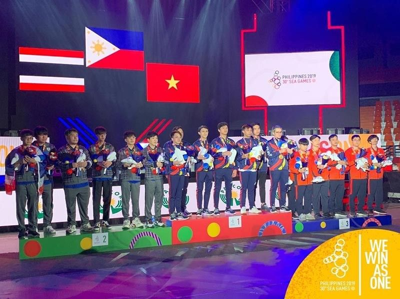Team Philippines wins DOTA-2 gold in SEA Games