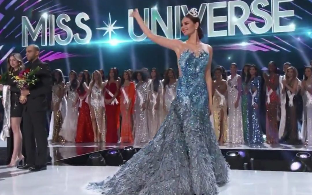 IN PHOTOS: Miss Universe 2018 Catriona Gray wears Mak Tumang gown in farewell walk