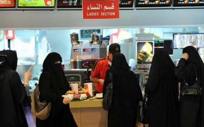 Saudi ends gender-segregated restaurant exits