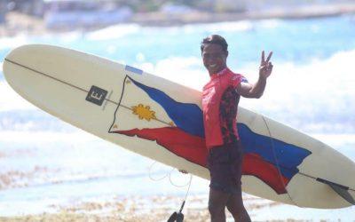 'Hero surfer' Roger Casugay named as SEA Games flag bearer in closing ceremonies