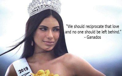 GAZINI GANADOS: No one should ever be left behind