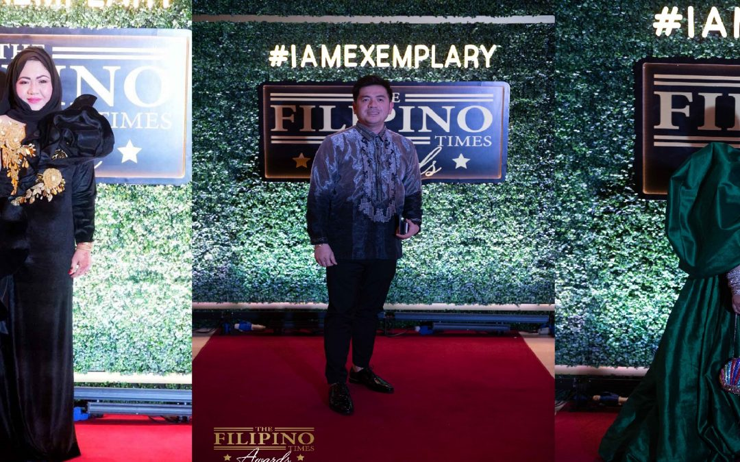 See some of the most glamorous traditional wear at The Filipino Times Awards 2019!