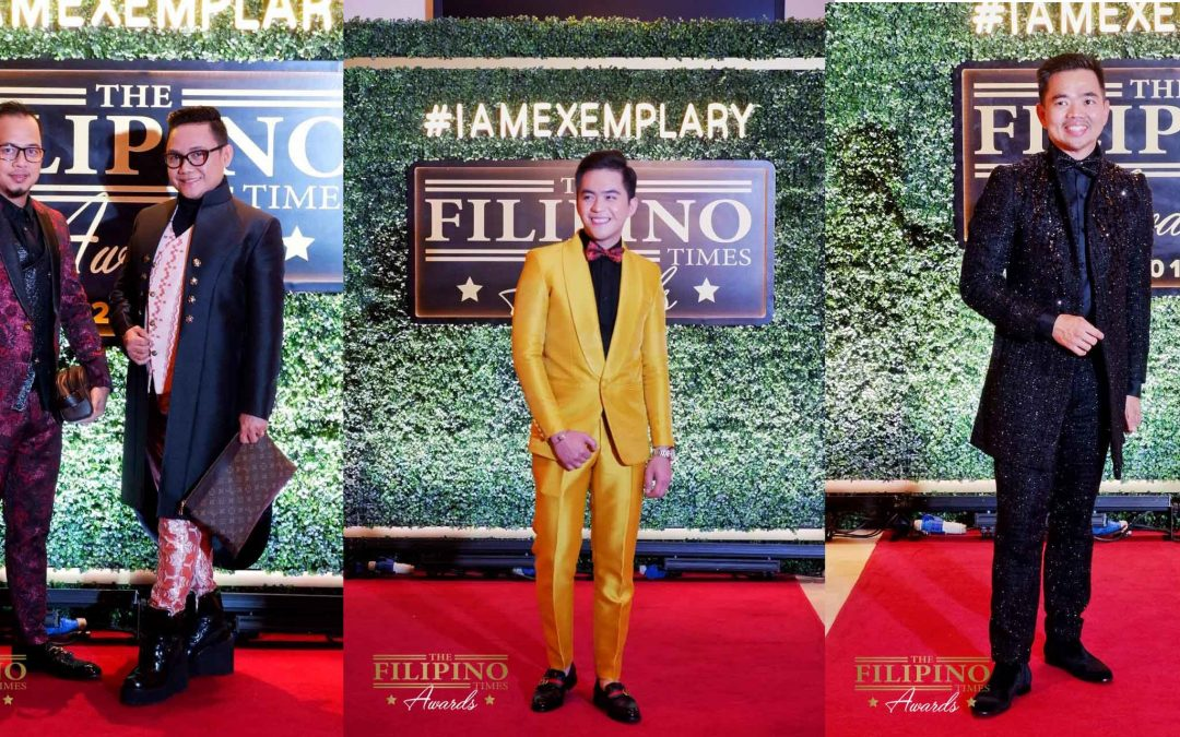See the best-dressed men at The Filipino Times Awards 2019!