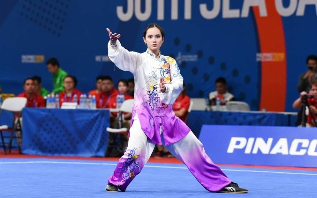 Agatha Wong defends wushu title, scores 2nd Gold for PH in 2019 SEA Games