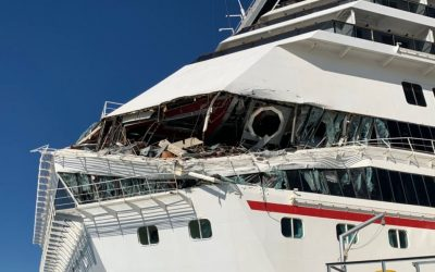 WATCH: 6 hurt as 2 Carnival cruise ships collide in Mexico
