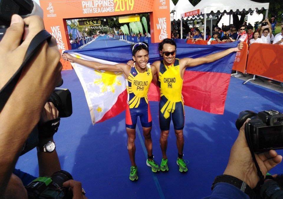 Philippines win 1st Gold, Silver in SEA Games Triathlon