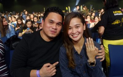 Man proposes to his long-term girlfriend at KathNiel concert