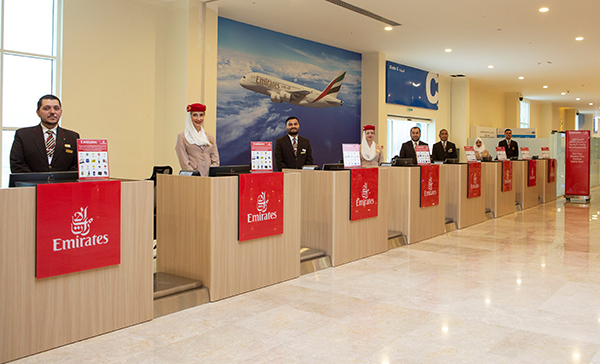 Emirates' first remote check-in terminal in Dubai for cruise passengers now open