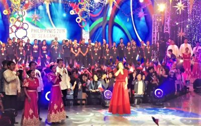 WATCH: Regine belts out SEA Games theme song