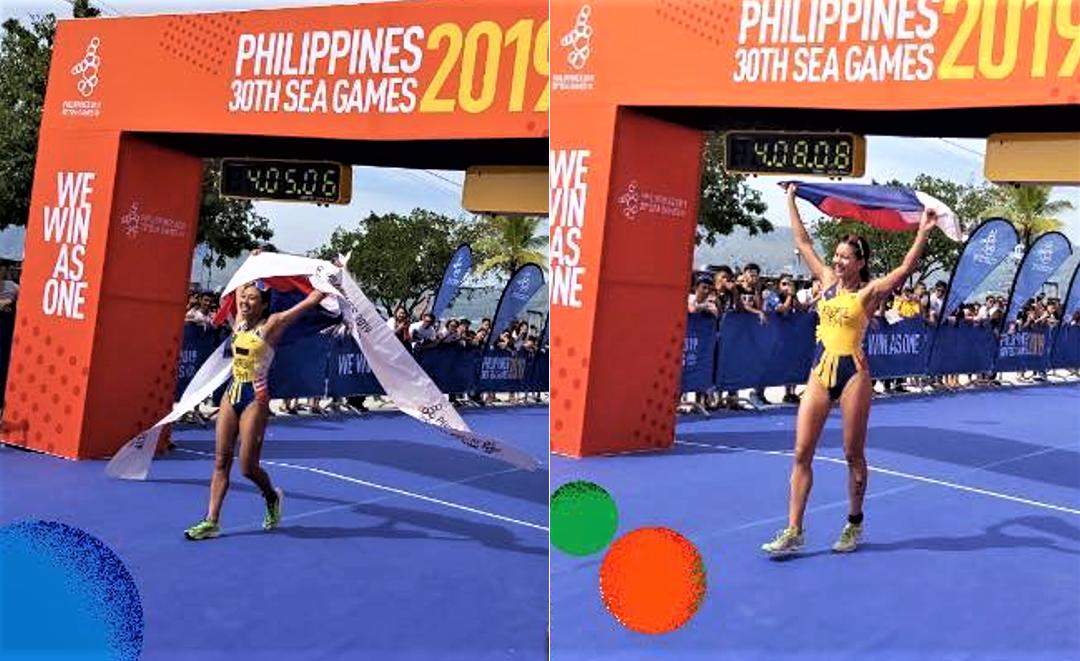 PINAY POWER: Mangrobang, Kilgroe secure Gold, Silver medals in 2019 SEA Games women's triathlon