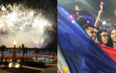 Philippines opens 30th SEA Games on a high note