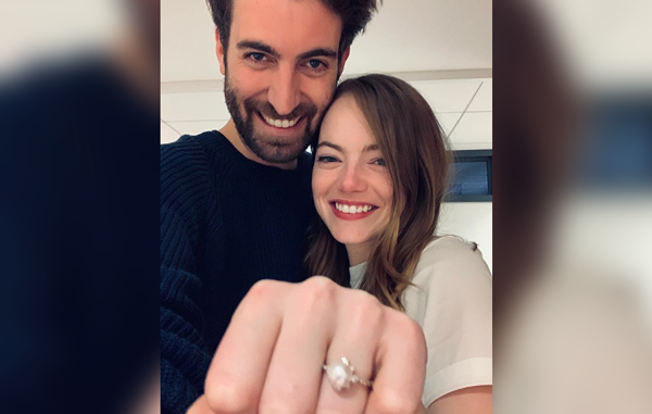 Emma Stone engaged with her boyfriend