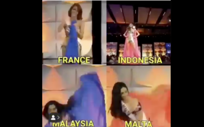 LOOK: Miss Universe candidates who suffered a major fall during the swimsuit preliminaries