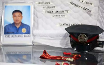 Senado nagbigay pugay sa kabayanihan ni Police Senior Master Sergeant Jason Janog Magno
