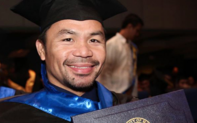 Pacquiao says college degree most 'meaningful achievement'