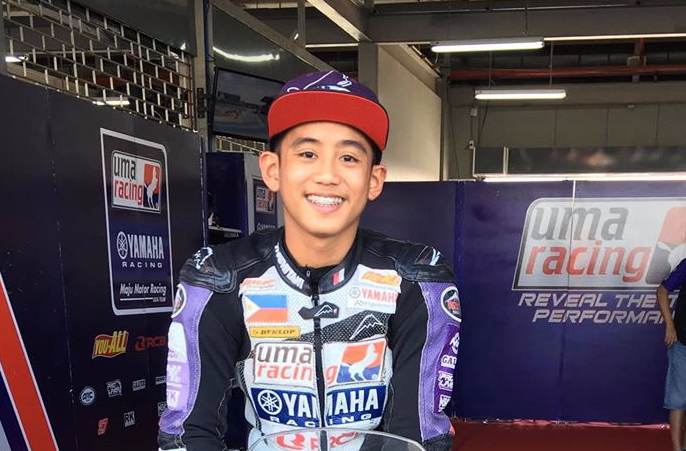16 year-old Pinoy champion racer dies in Thailand accident