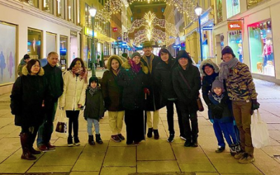 LOOK: Enchong Dee, family happily spend Christmas in Europe