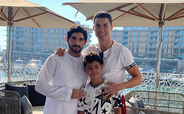 LOOK: Famous sports stars meet with Sheikh Hamdan over the weekend