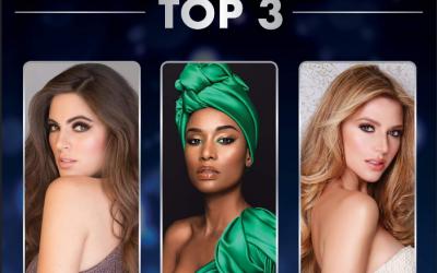 UPDATE: Miss Universe Top 3