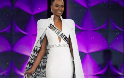 Miss South Africa hailed as Miss Universe 2019