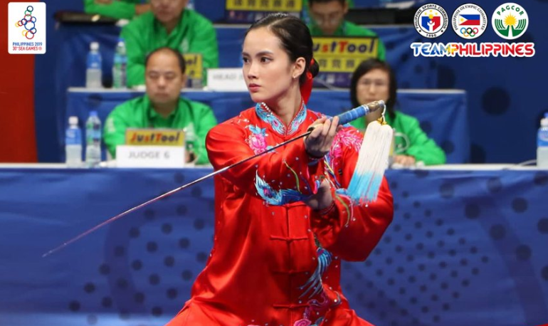 Agatha Wong wins second gold in 2019 SEA Games Wushu