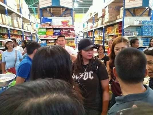 Angel Locsin spotted in Northern Samar to help Tisoy victims
