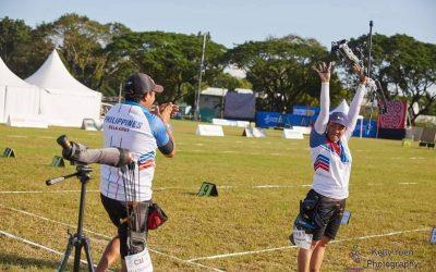 PH couple wins SEA Games archery gold