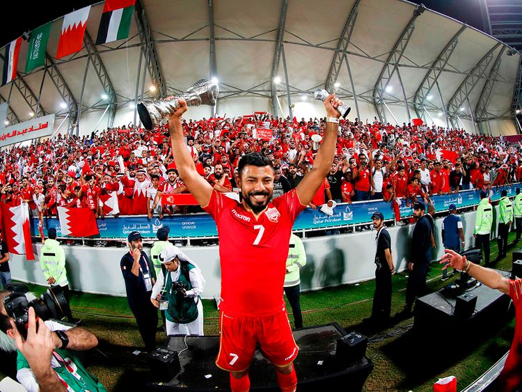Bahrain wins Gulf Cup for the first time