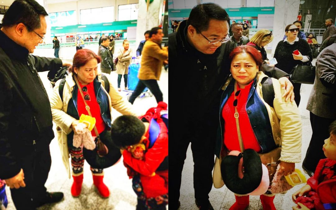 PH Embassy in Libya facilitates travel back home of Pinay nurse, son