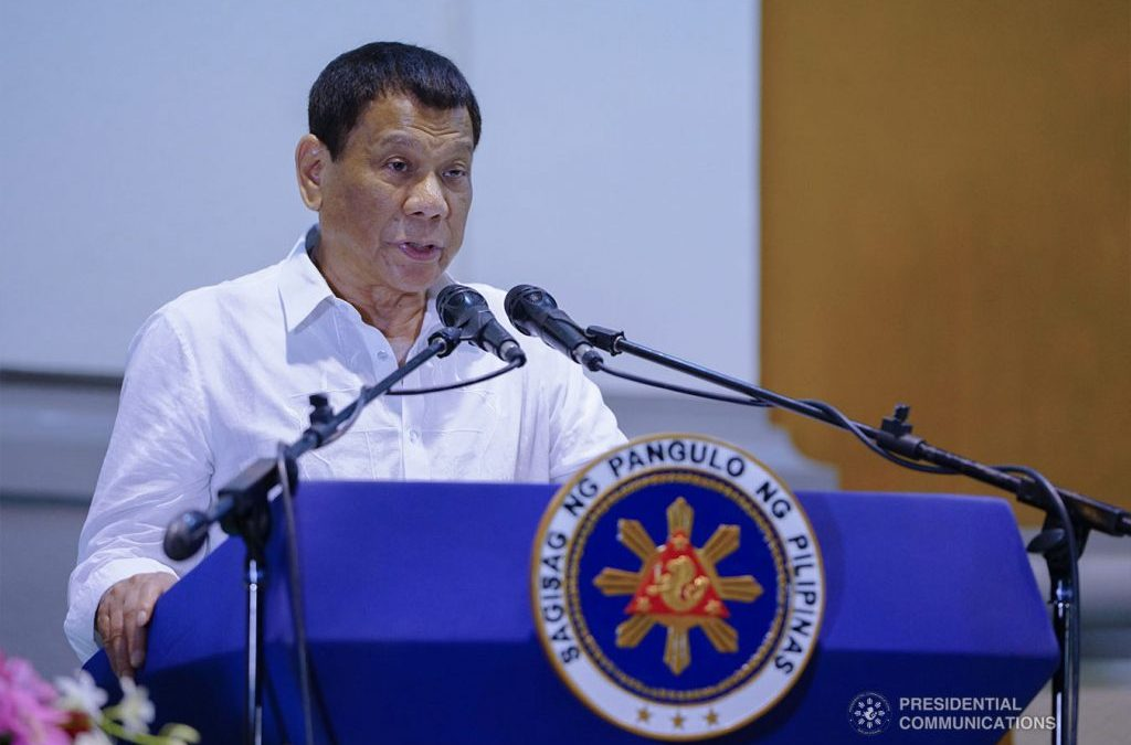 President Rodrigo Duterte pens message of solidarity for Muslims in celebration of Eid al Fitr