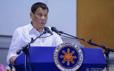 Duterte wants massive evacuation centers amid Taal Volcano crisis