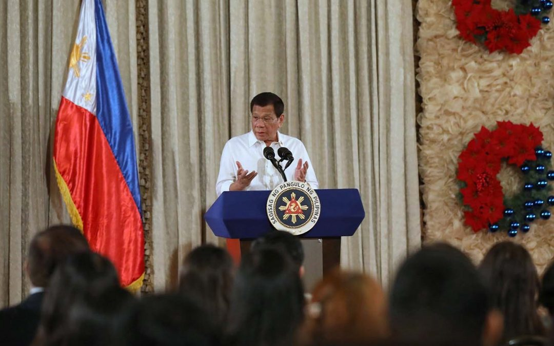 President Duterte launches aid program for barangay execs this Christmas