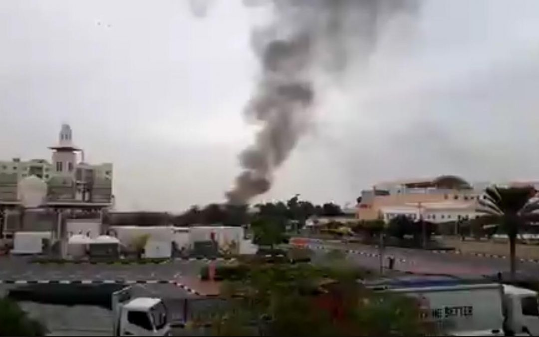 Fire breaks out in Al Quoz Industrial Area 2