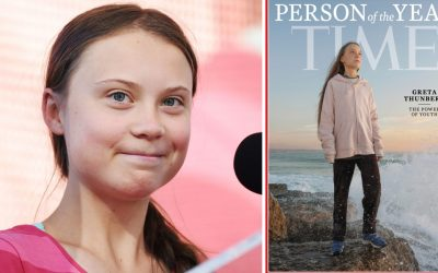 Greta Thunberg sets record as the youngest 'Time Person of the Year' — Guinness