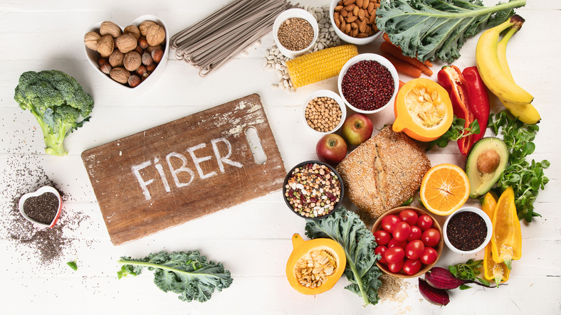 Eating fibres helps lose weight fast