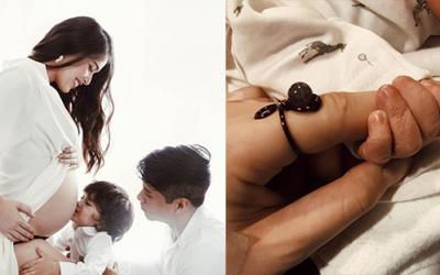 Kylie Padilla, Aljur Abrenica welcome their newborn child