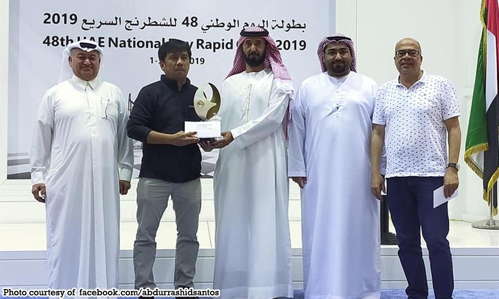 PH PRIDE: Filipino chess master wins in Dubai Chess Open