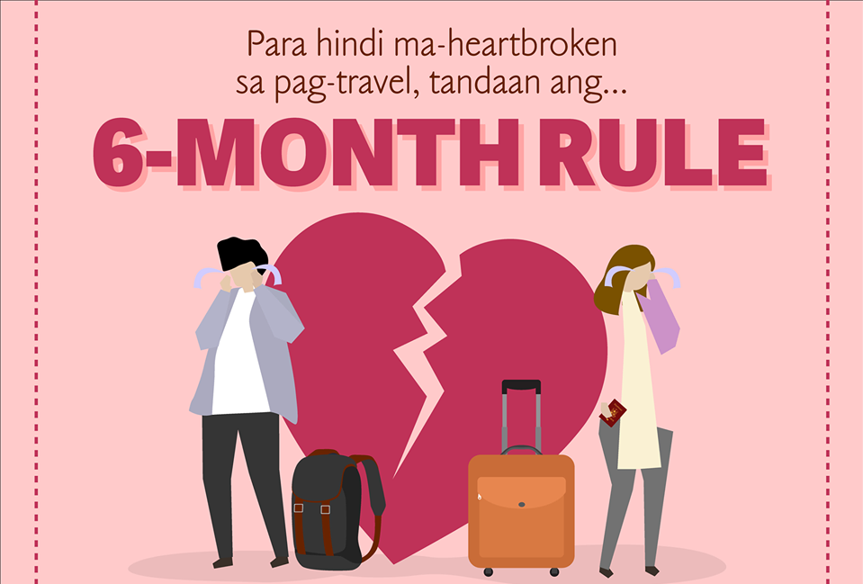 Apart from love life, 6-month rule also applies to passport validity—DFA