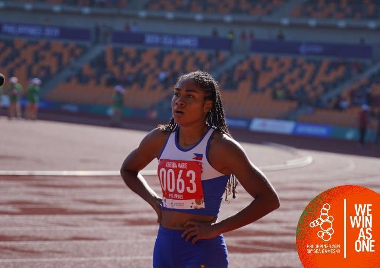 Pinay sprinter breaks Lydia De Vega 33 year record