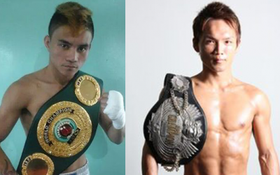 Two Pinoy boxers optimistic to win in New Year's eve match in Japan