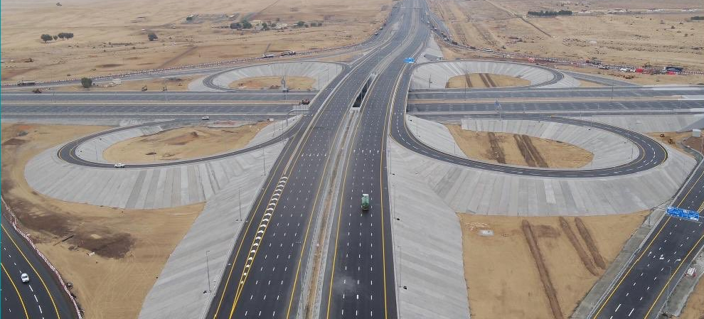 LOOK: New road leading to Expo 2020 site opens