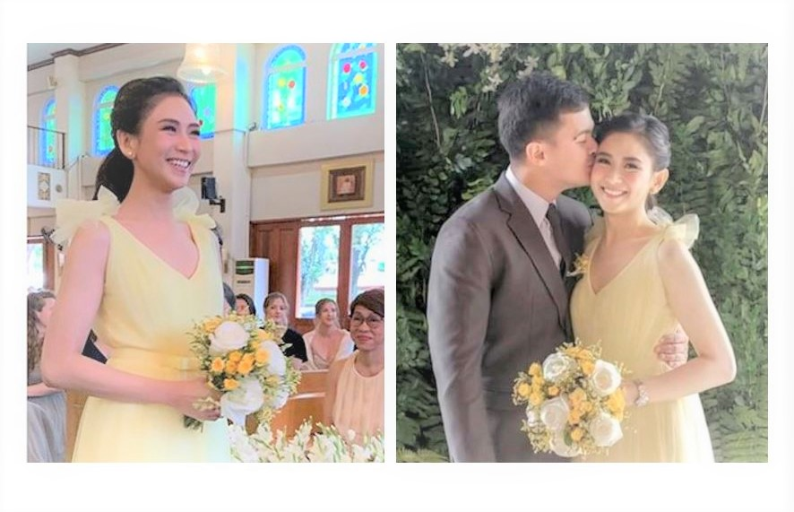 'Rehearsal?' Fans express 'kilig' over photos of Matteo, Sarah in a wedding