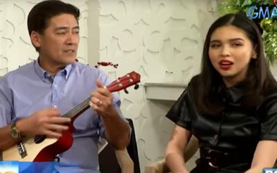 Bossing Vic,  Maine Mendoza sing 'Kapag Tumibok Ang Puso'