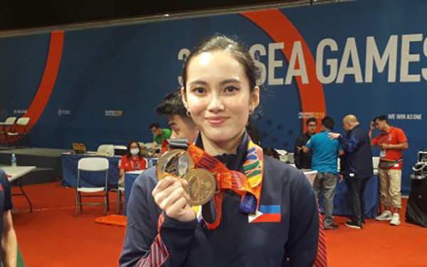 Agatha Wong pushes 20% discount for Nat'l athletes, coaches in PH