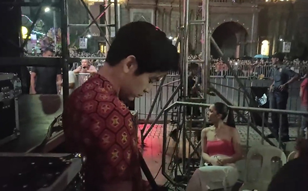 WATCH: Julia Barretto ignores Joshua Garcia during movie promo event