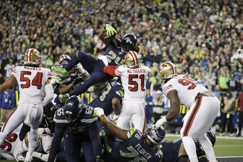 49ers claim No. 1 seed in National Football Conference with 26-21 win over Seahawks