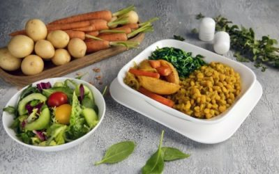 Emirates adds plant-based options to its January menus for vegans