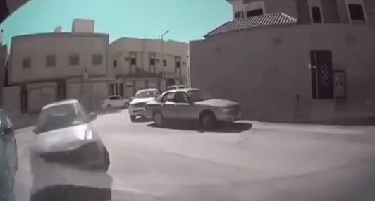 Watch: Driver crashes into house during chase