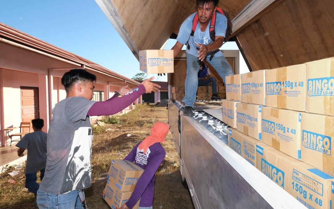 Ilokanos aid Batangeño victims of Taal eruption